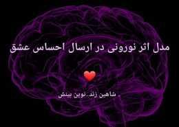 مدل اثر نورونی در ارسال احساس عشق